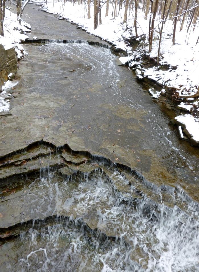 Upper part of Buttermilk Falls