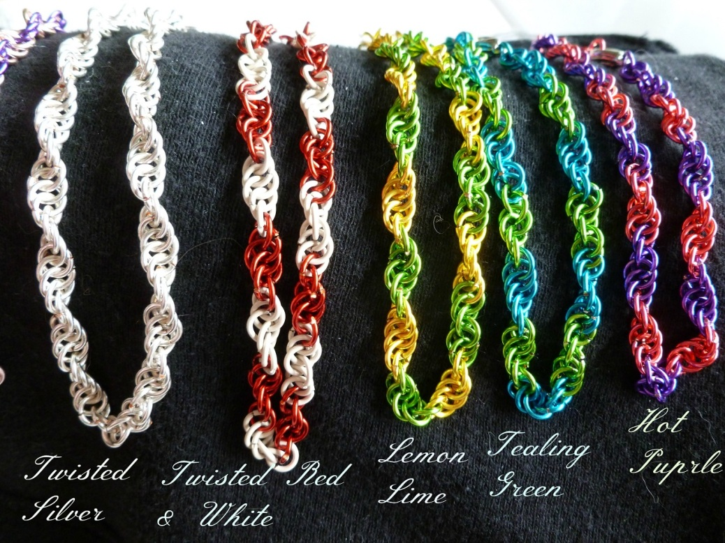 Twisted Bracelets part 1