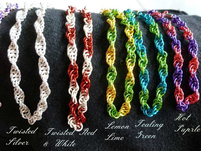 Twisted Bracelets part 1