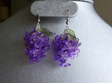 Lilac Earrings!