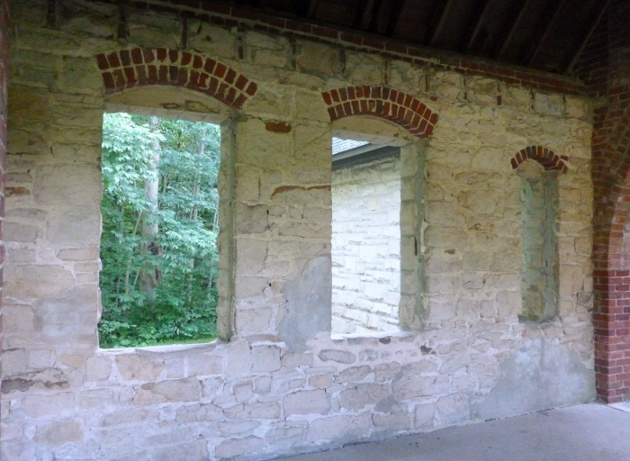 Windows in Squire's Castle.