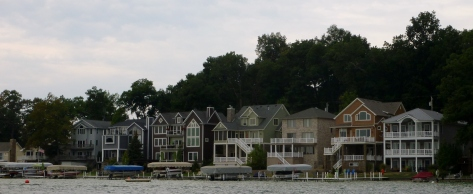 Some cool lake houses.