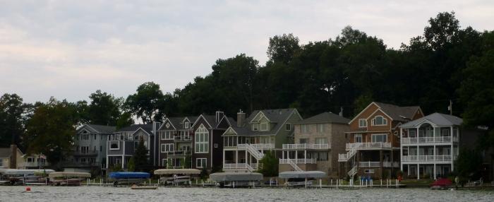 Some cool lake houses.