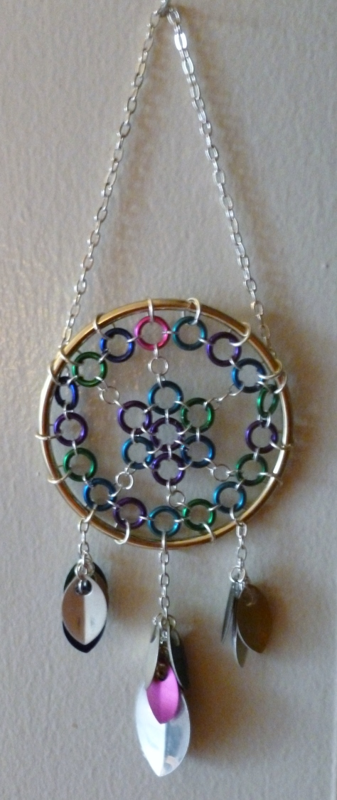 Chianmaille Dream Catcher