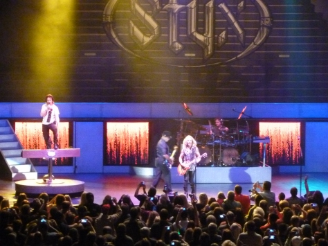 And here is Styx! The concert was epic. Absolutely epic.