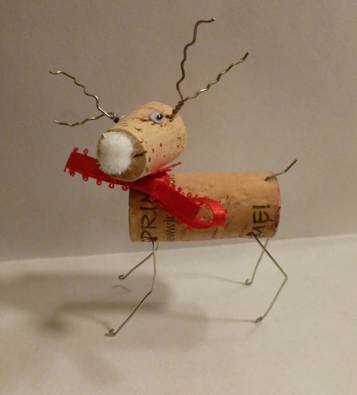 Derpy Cork Reindeer!