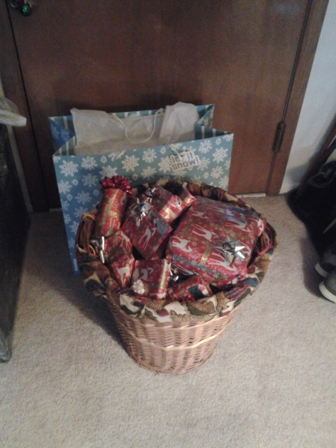 Everything wrapped and ready to go!