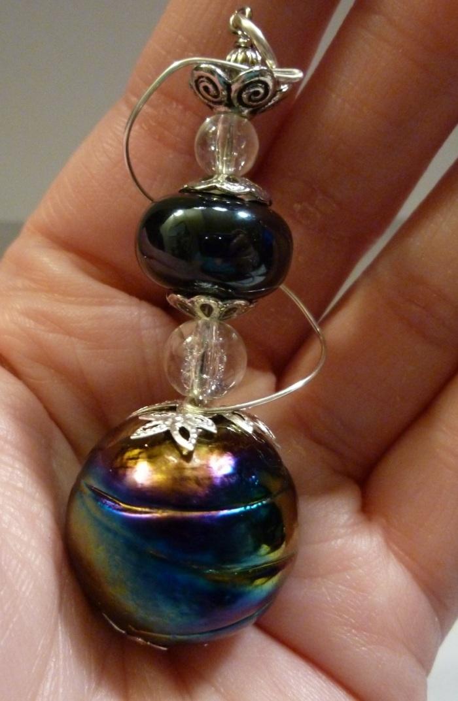 A hookah pendant.