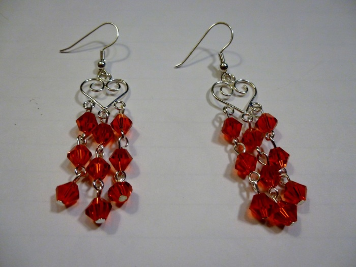 This is the other pair of heart earrings as mentioned above.