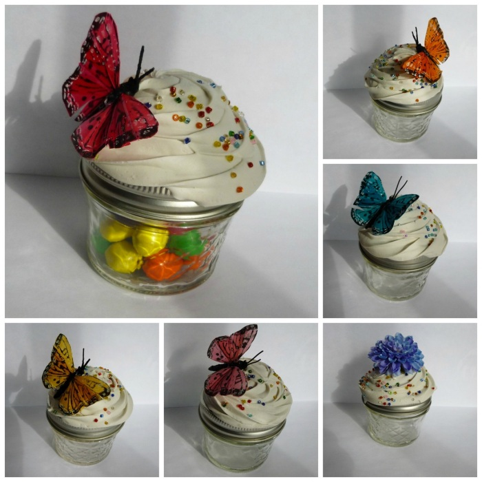 6 colors to choose from in the butterflies!