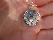 Hide secrets in a locket